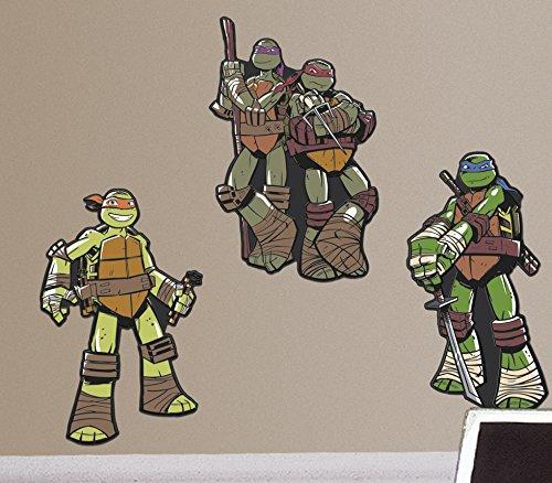 RoomMates RMK2529FLT Teenage Mutant Ninja Turtles Foam ()