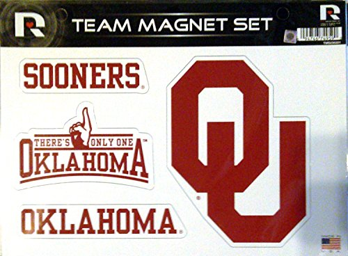 NCAA Oklahoma Sooners NCAA Team Magnet Sheet, Red, 11