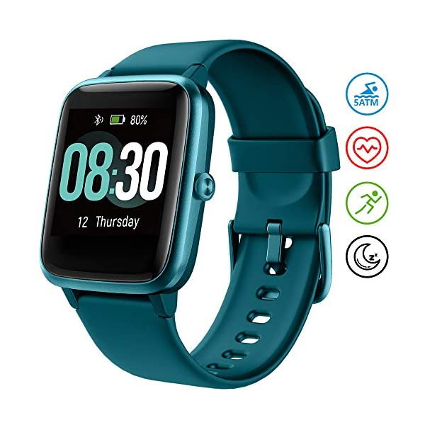 UMIDIGI Smart Watch Uwatch3 Fitness Tracker, Smart Watch for Android Phones, Activity...