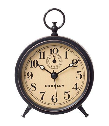 Timelink Crosley Antique Metal Finial Alarm