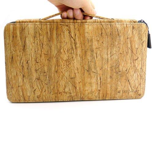 JAVOedge Brown Lumberjack Wood Pattern Protective Case for Apple Magic  Keyboard, Logitech K380, K810, K811
