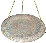 Whitehall Products Oakleaf Hanging Birdbath, Copper Verdi Review