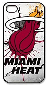 icasepersonalized Personalized Protective Case For HTC One M8 Cover NBA Miami Heat
