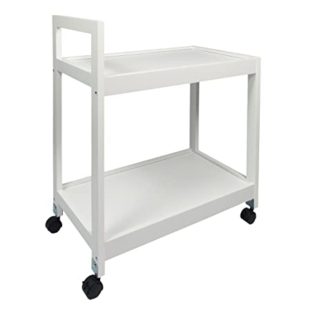 WoodLuv 2-Tier Kitchen Storage Serving Trolley Island Cart With Wheels  sc 1 st  Amazon UK & WoodLuv 2-Tier Kitchen Storage Serving Trolley Island Cart With ...
