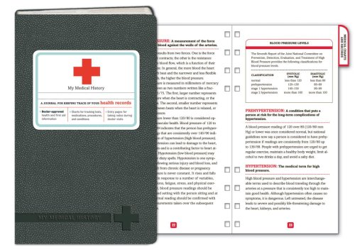 My Medical History: A Journal for Keeping Track of Your Health Records (Potter Style)