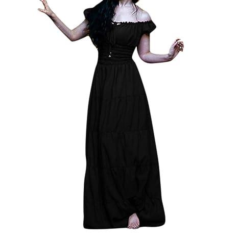 Disfraz Medieval Traje Medieval para Mujer Un Hombro Medieval ...