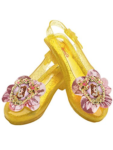 Disney Princess Beauty and The Beast Belle Sparkle Shoes One Size Child -