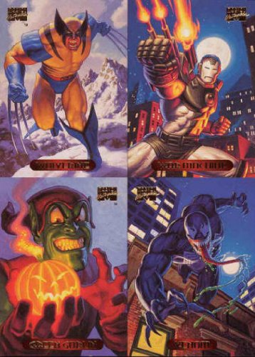 Marvel Masterpiece 1994 Mondo #78 Single Trading Card
