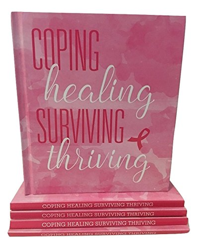 Breast Cancer Awareness Coping Healing Surviving Thriving Inspirational Book - Think Pink for the cause!