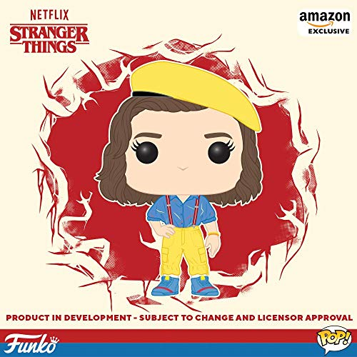 (Funko Pop! TV: Stranger Things - Eleven, Yellow Outfit, Amazon Exclusive)