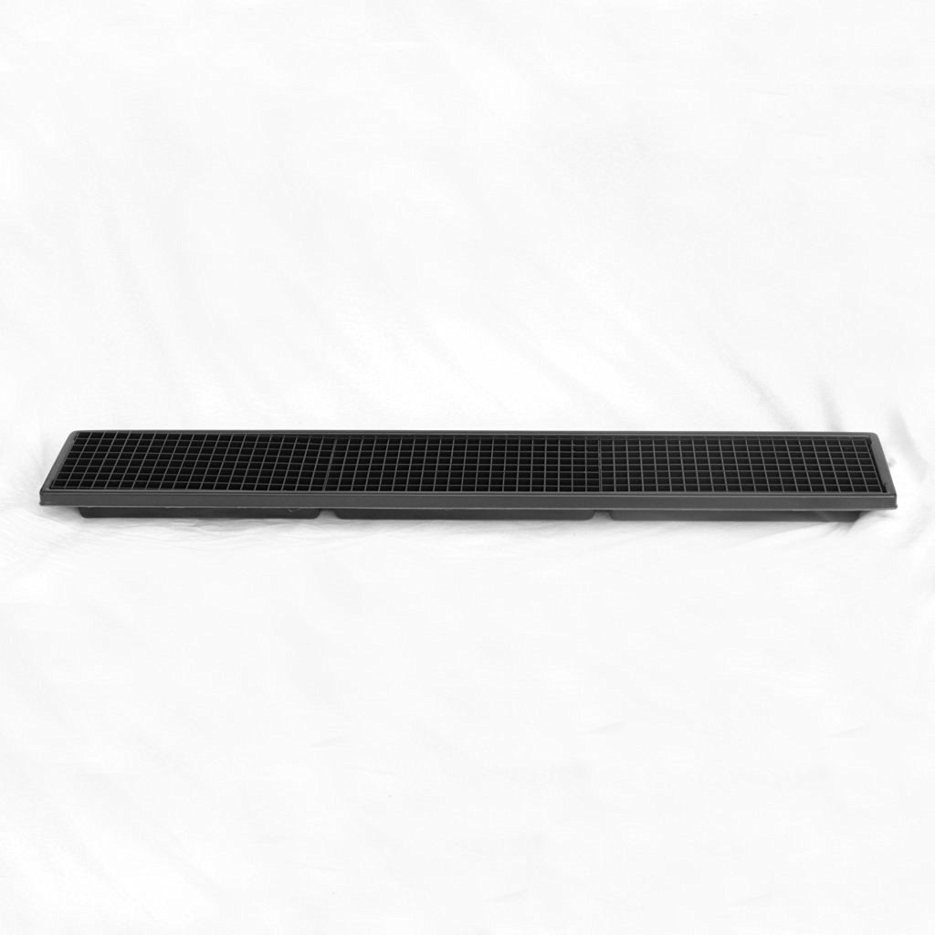 Case Pack Humidity Tray for Bonsai , Orchids, Other PlantsHT-105 H-2 1/4 x L-26 1/4 x W-6 1/2 (4 Trays)