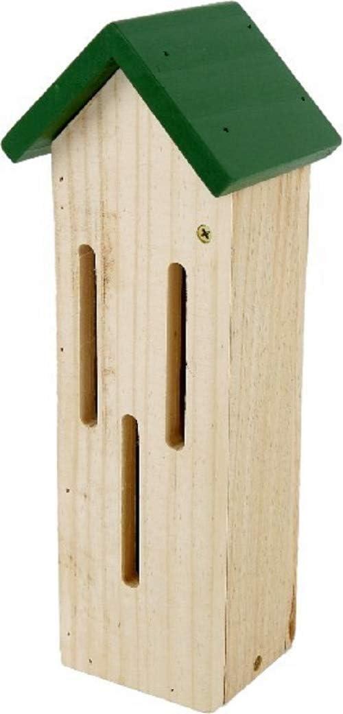 Home Collection Hogar Muebles Accesorios Decoración Jardín Casa Rural Nido Caja para Insectos Mariposas Mariquitas 11 x 9 x 30 cm