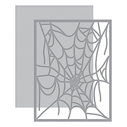 Spellbinders Shapeabilities Spider Web Card Front Etched/Wafer Thin Dies ()
