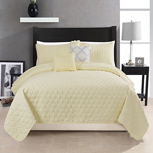 yellow quilts queen size - 2