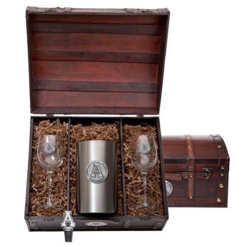 Appalachian State Mountaineers Wine Gift Set by Heritage Metalwork