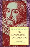 The Advancement of Learning, Francis Bacon, 096649136X