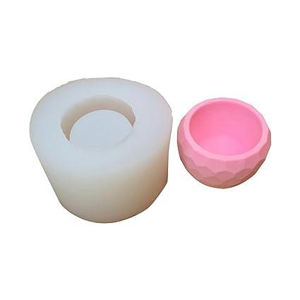 Molde de silicona para maceta de plantas suculentas, cemento de yeso, flecha, maceta