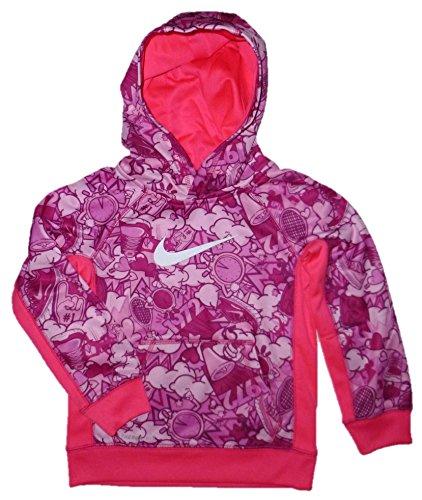 Nike Toddler Girl's Therma-Fit Hoodie (6, Hyper Pink)
