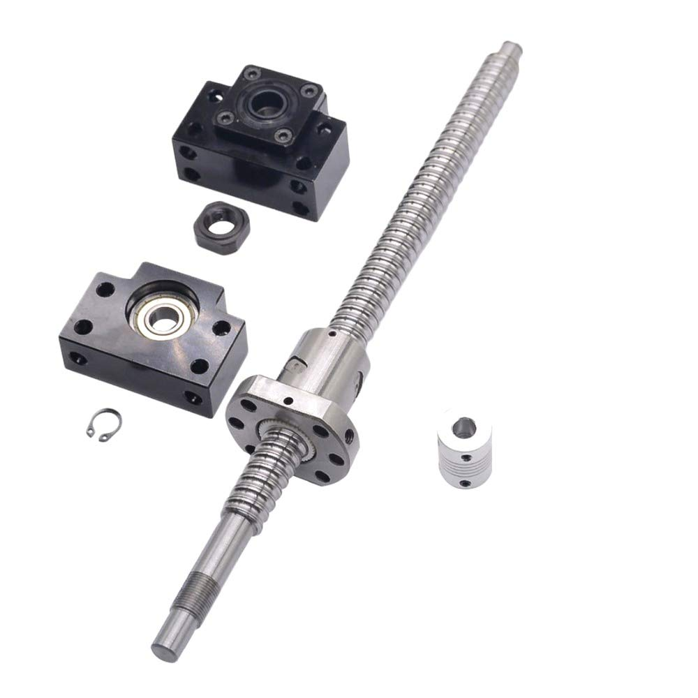 SFU1605 L200mm rolled ball screw C7 with 1605 for BK//BF12 end machined CNC parts
