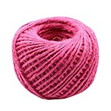 Hand Knitting Hemp Rope DIY Satin Ribbon Decorative Riband Twine L