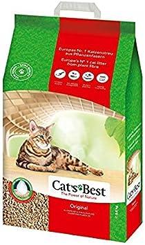 Cats Best Arena para gatos aglomerante de madera, Okoplus, 30 l