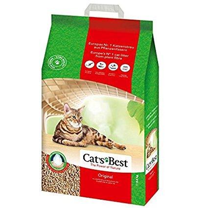 Cats Best Arena para gatos aglomerante de madera, Okoplus, 30 l: Amazon.es: Productos para mascotas