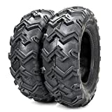 Pair ATV UTV Tires 25x8-12 25-18-12 6Ply Front Tire