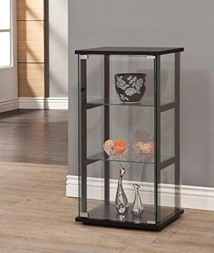 Coaster Home Furnishings 950179 Curio Cabinet, Black