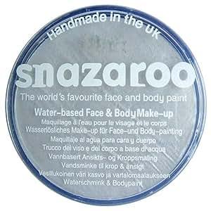 Snazaroo - Maquillaje al agua para cara y cuerpo (75 ml)- color sparkle gun metal gris