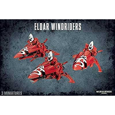 Games Workshop Warhammer 40,000 Eldar Windriders: Toys & Games