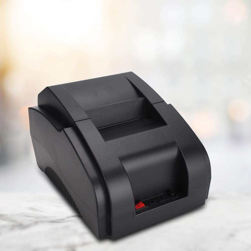 Wendry Mini Impresora, 58MM USB 80mm/s Impresora Térmica de ...