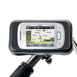 Montaje de Base único para manillares de bicicletas o motocicletas sostiene el Samsung Tass de manera segura y resistente a la intemperie