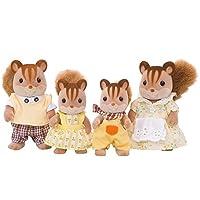Familia de fuentes Calico Critters Hazelnut Chipmunk