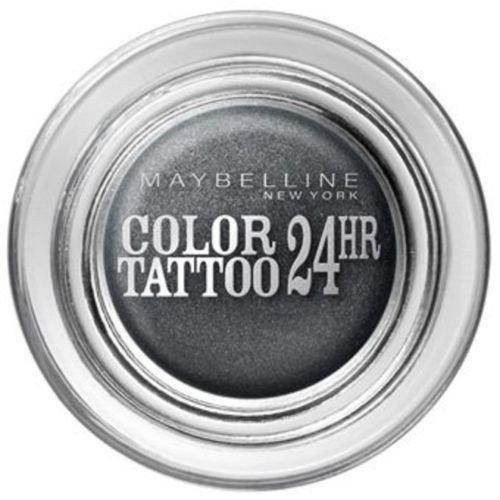 Immortal Eye - Maybelline Color Tattoo 24hr Gel Cream Eyeshadow Immortal Charcoal 55