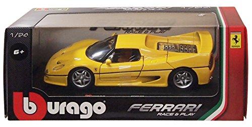 1/24 フェラーリ F50(イエロー) 18-26010Y