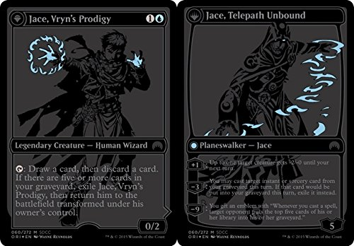 Magic: the Gathering - Jace, Vryn's Prodigy // Jace, Telepath Unbound (080/272) - Unique & Misc. Promos - Foil by Magic: the Gathering