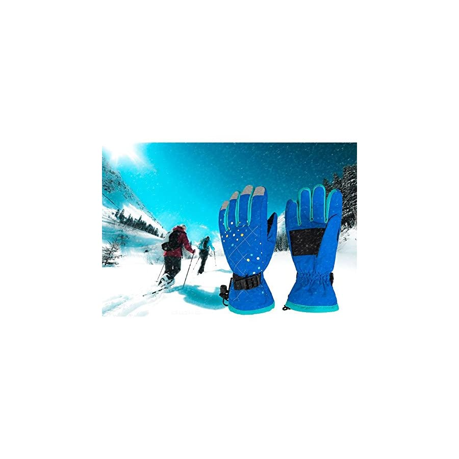 Waterfly Women's Warm Waterproof Winter Glove Cycling Gloves