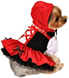 Anit Accessories Red Hood Dress Dog Costume, 20-Inch