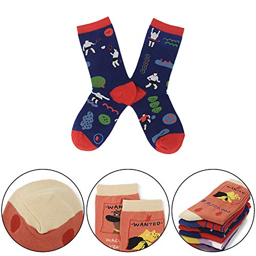 Aoruisier 1 Pairs Cute Animal Soft Baby Socks Girls Boys Cartoon Fashion Cotton Crew Socks