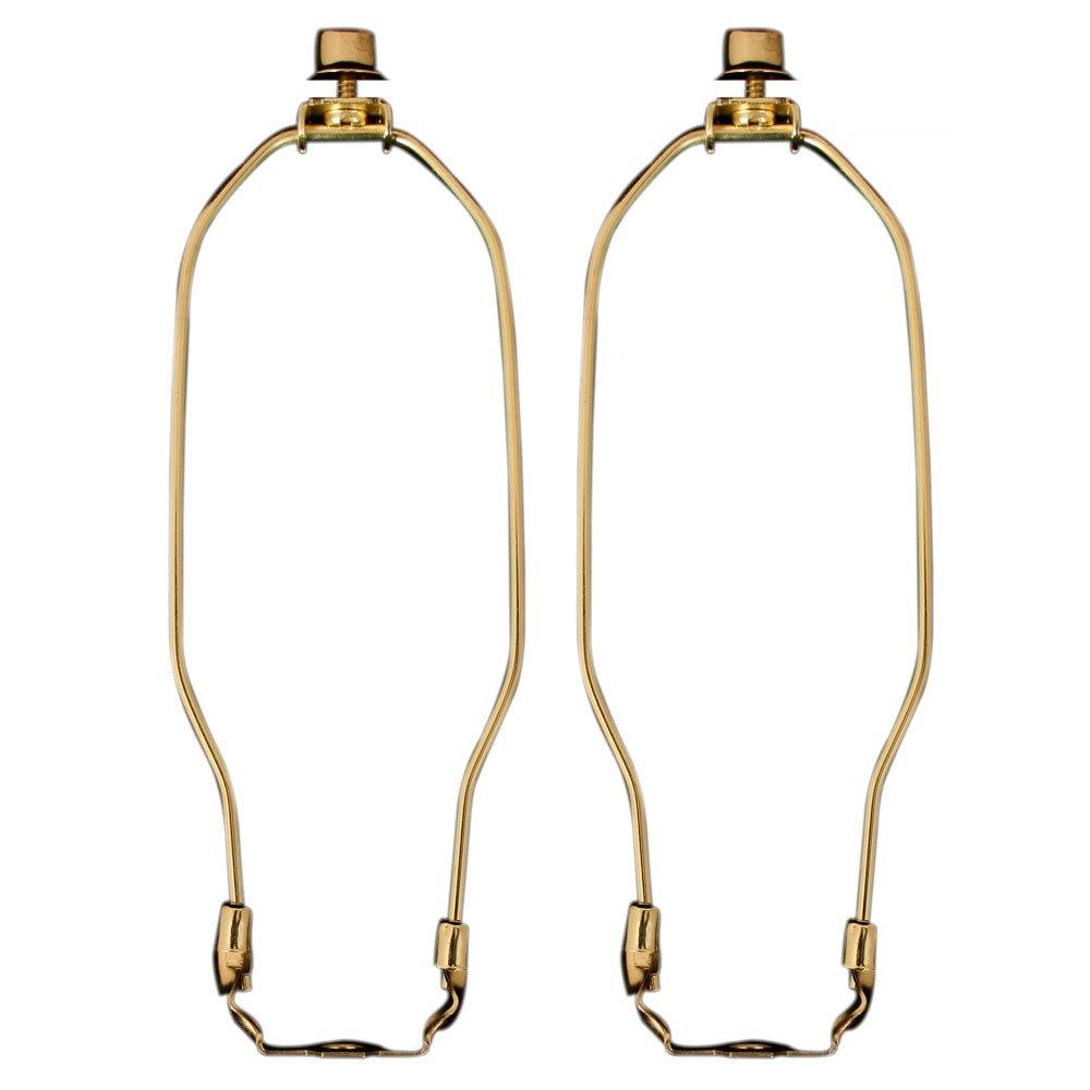 Royal Designs HA-1001-10BR-2 Heavy Duty Lamp Harp, 10'', Polished Brass