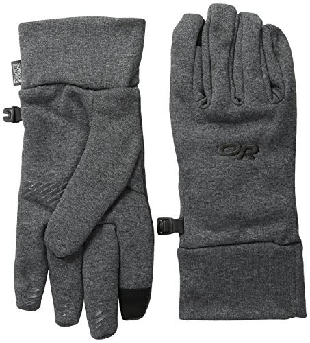 Outdoor Research Women's PL 400 Sensor Gloves, Charcoal Heather, Medium by Outdoor Research