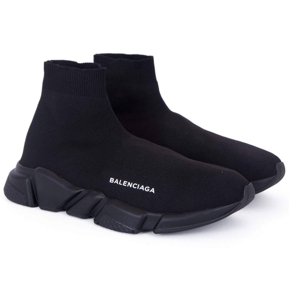 5269a67b26bde Balenciaga Speed Trainer Triple Black Imported Sneakers  Buy Online at Low  Prices in India - Amazon.in