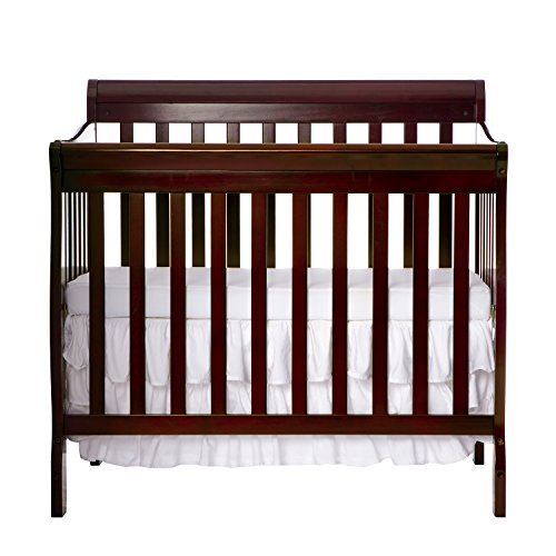 Dream On Me 4 in 1 Aden Convertible Mini Crib, Espresso by Dream On Me