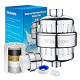 WinArrow- Shower Filter, High Output Universal Replaceable Water Purifier Powerful Remove Chlorine Heavy Metal Let Your Hair and Skin Healthier Teflon Tape - Chrome