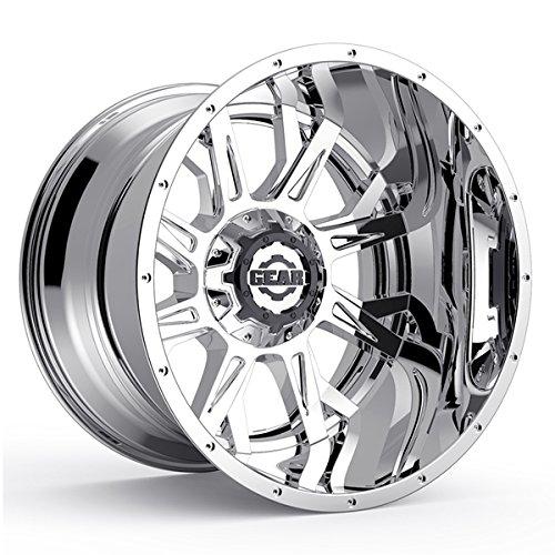 Gear Alloy 742C Kickstand 20×9 8×180 +18mm Chrome Wheel Rim