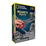 NATIONAL GEOGRAPHIC Magnetic Putty Kit - Make Putty Dance & Move!, Brown
