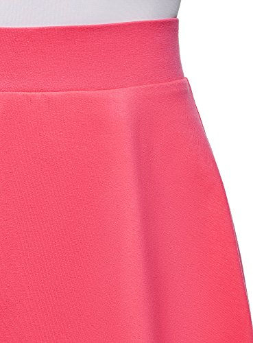 En Femme Oodji 4d00n Jupe Rose Cloche Coton Ultra W7nq1Hnv
