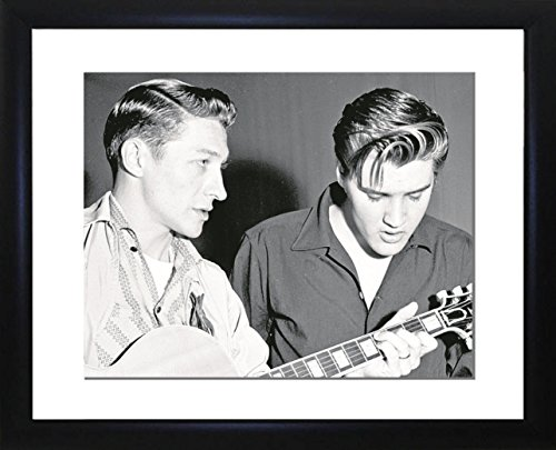 - Picture Favourites Elvis Presley with Scotty Moore Framed Photo