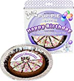 Lazy Dog Pup-PIE Happy Birthday for a Special Dog 6 Inch Larger Image