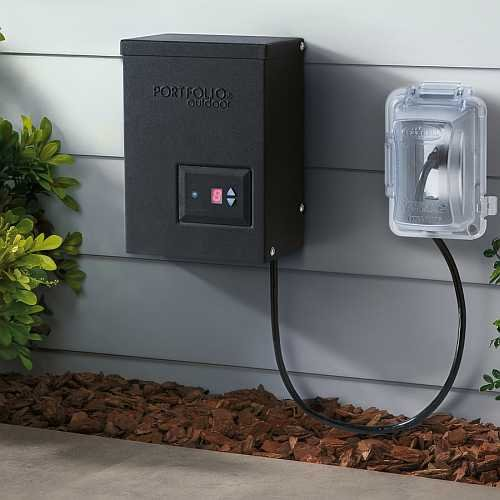 Portfolio Outdoor 200-Watt AC Transformer by Portfolio Outdoor (Image #1)